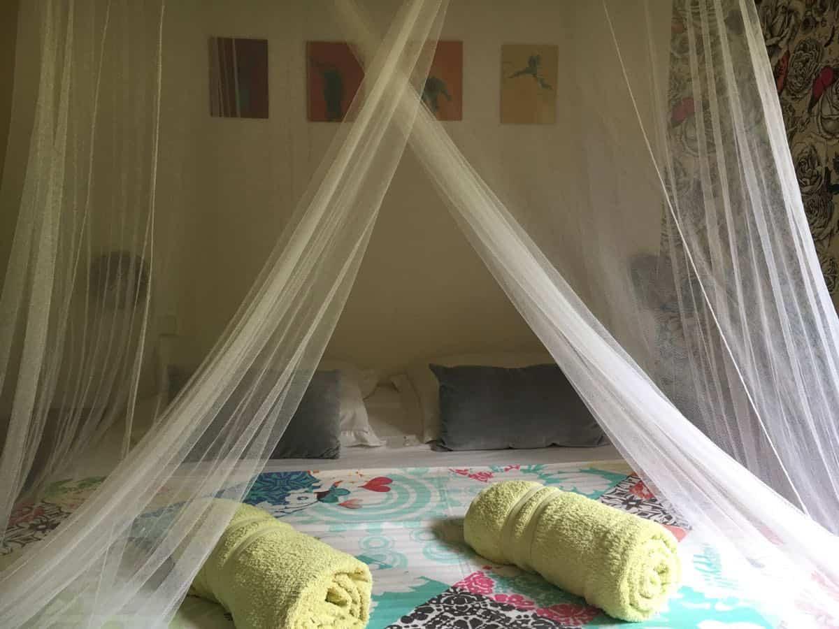 Gites Deshaies - Location Guadeloupe : Babord, parfait pour 2 adultes et 2 enfants ou adolescents